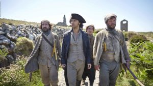 Ross Poldark und seine Arbeiter © Mammoth Screen Limited